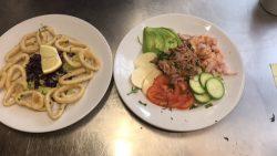 Amaretto Ristorante Seafood Dishes